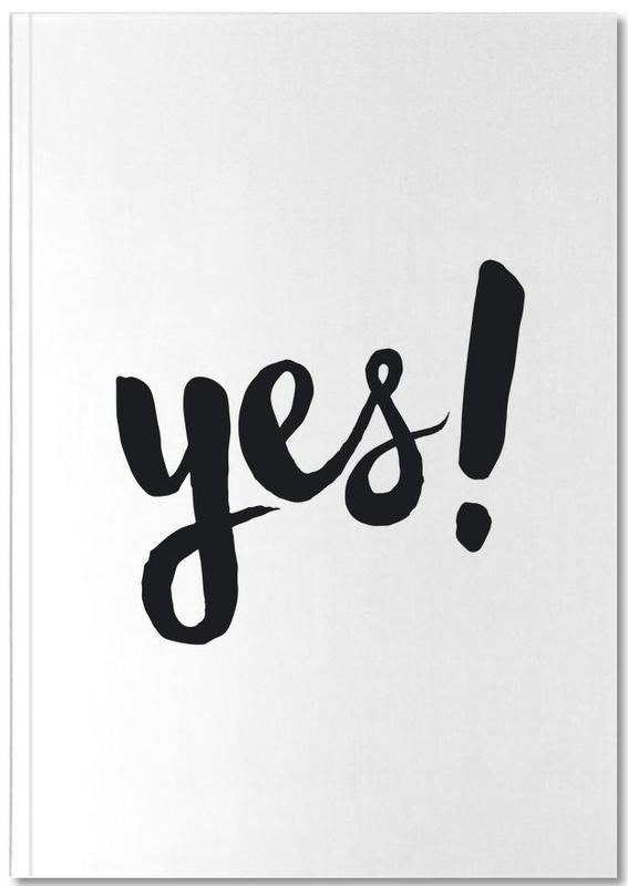 Citations et slogans, Noir & blanc, Félicitations, Mariages, Yes Notebook