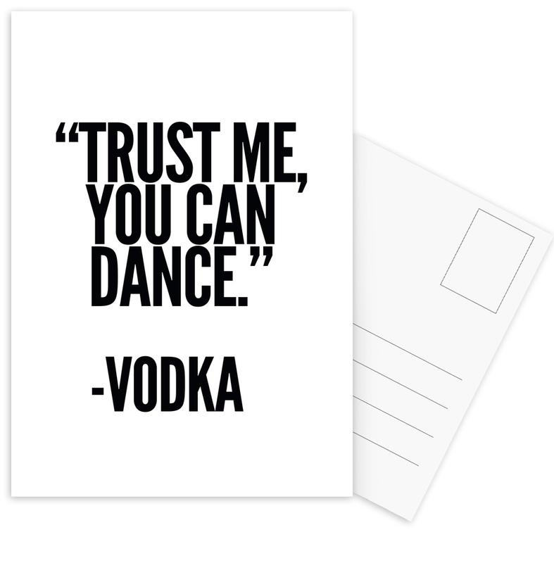 Vodka Postcard Set