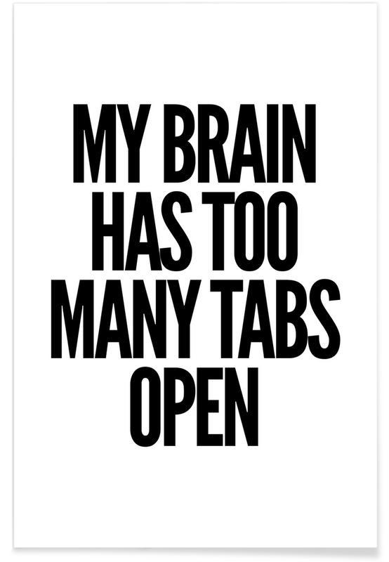 Brain -Poster