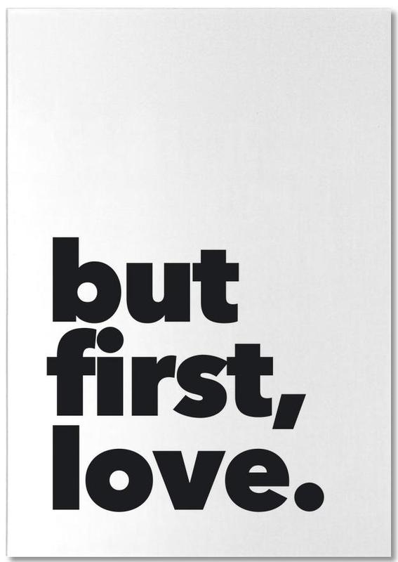 first love bloc-notes