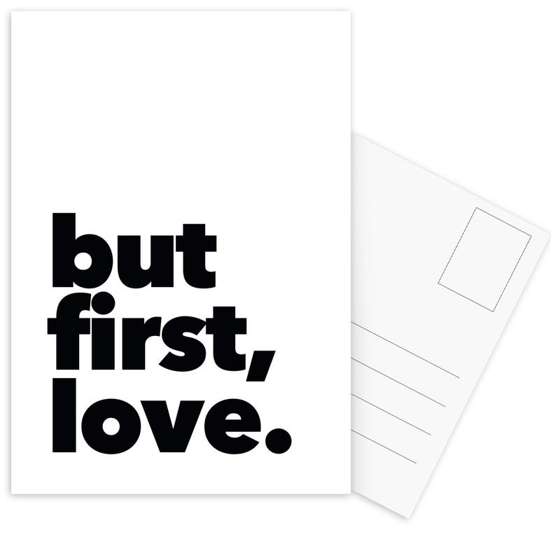 first love Postcard Set