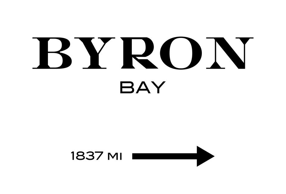 Byron Bay Acrylic Print