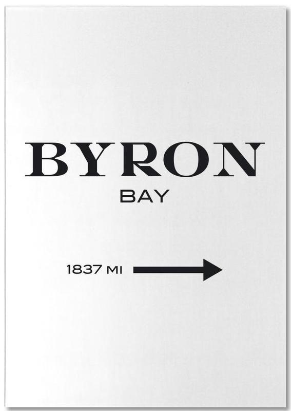 Byron Bay -Notizblock