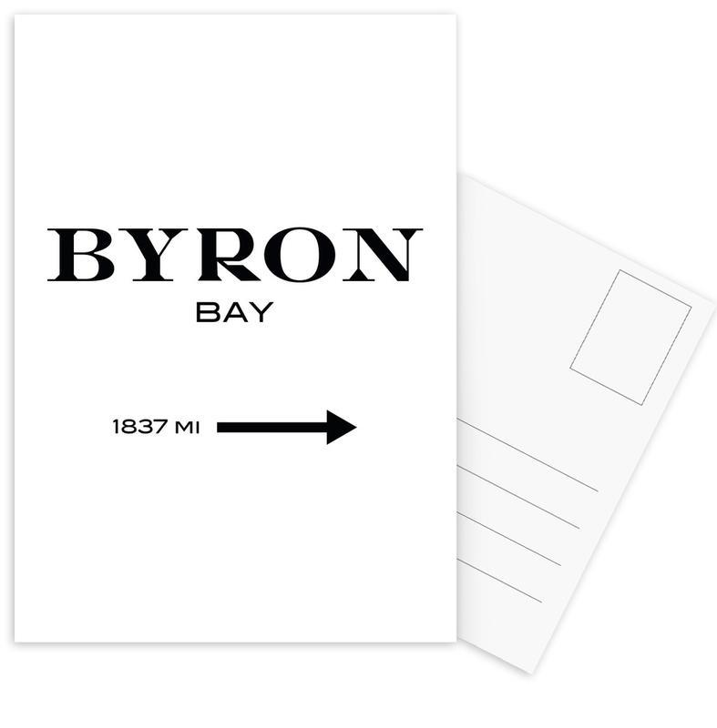 Byron Bay -Postkartenset