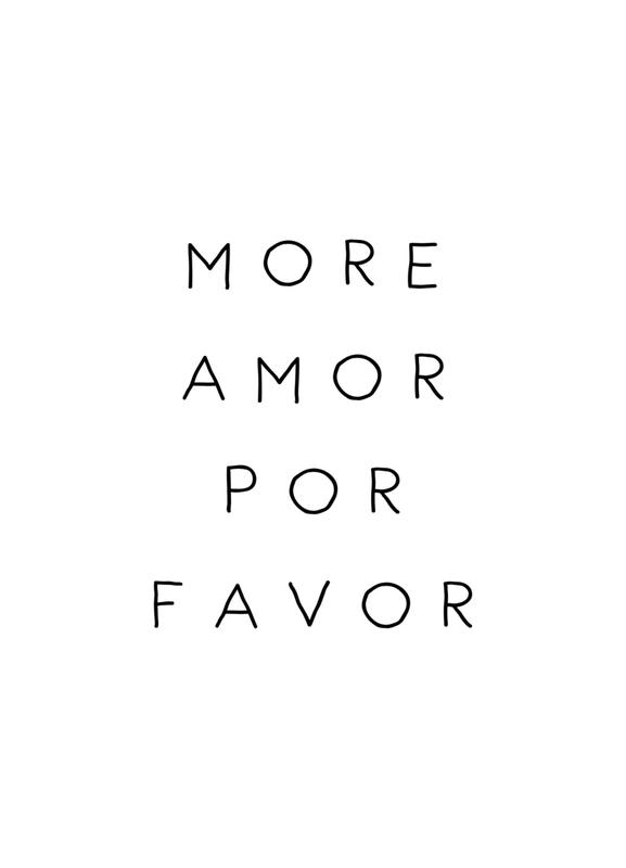 More Amor Canvas Print