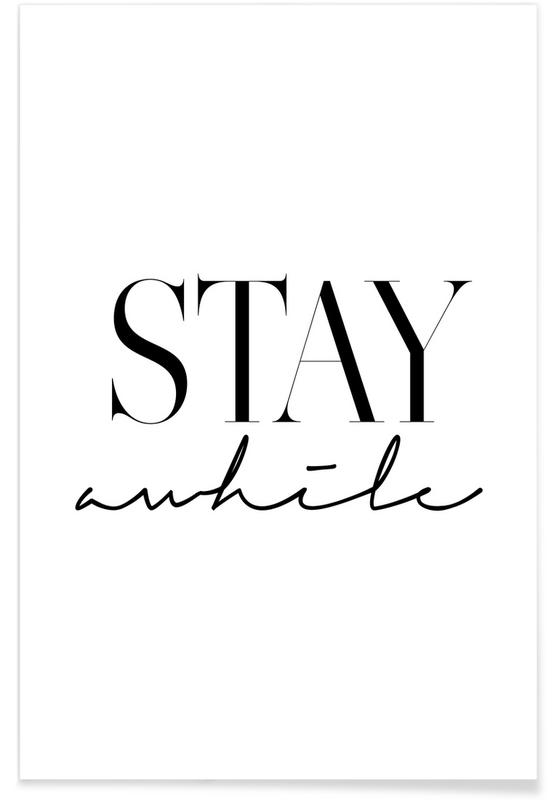 Stay Awhile 2 Poster