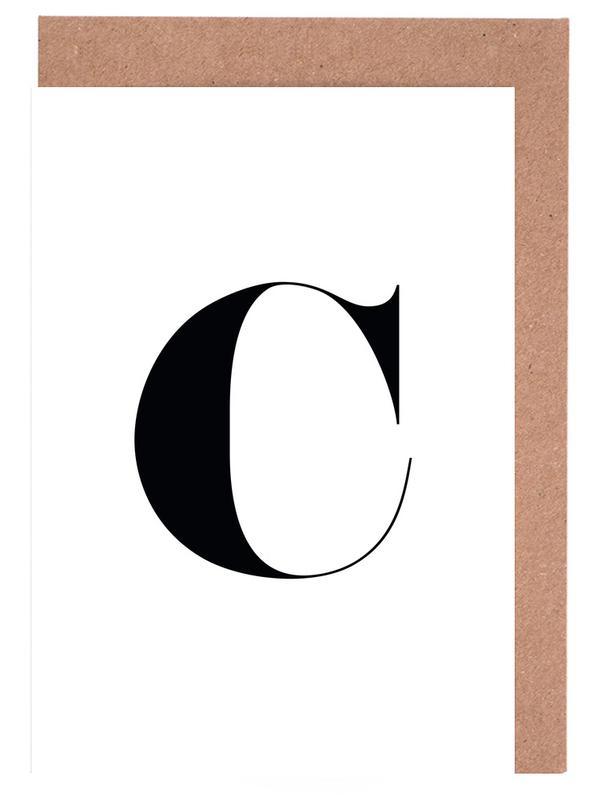 C Greeting Card Set