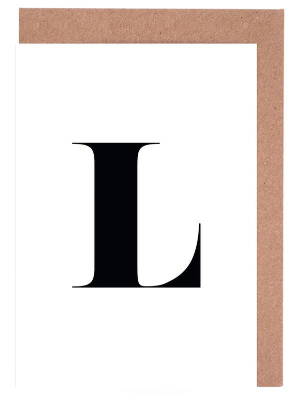 L -Grußkarten-Set