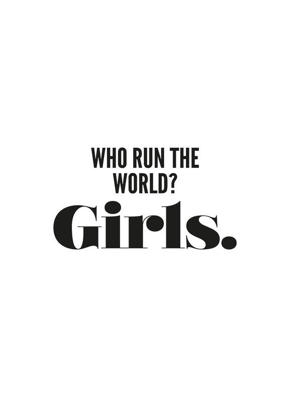 Run Girls -Leinwandbild
