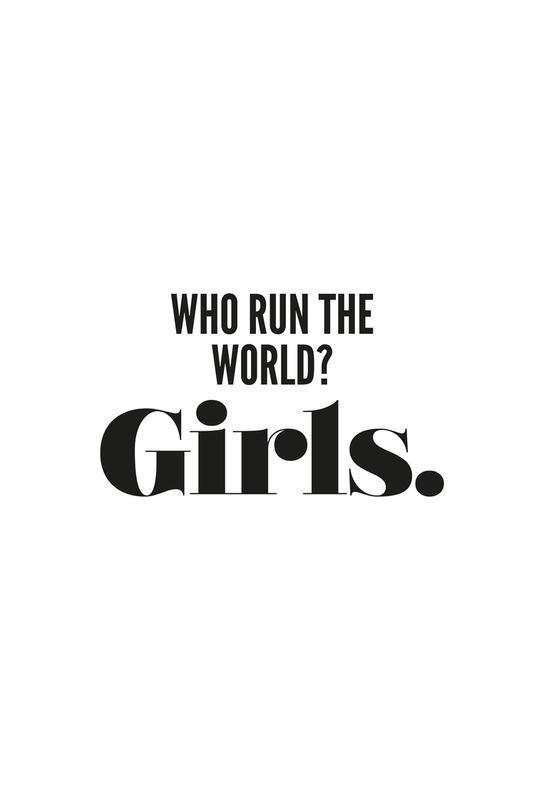 Run Girls -Acrylglasbild