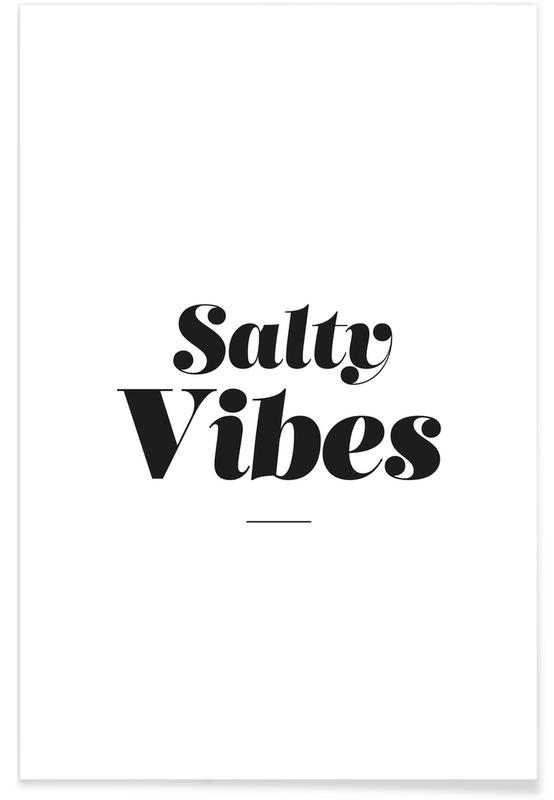 Salty Vibes -Poster