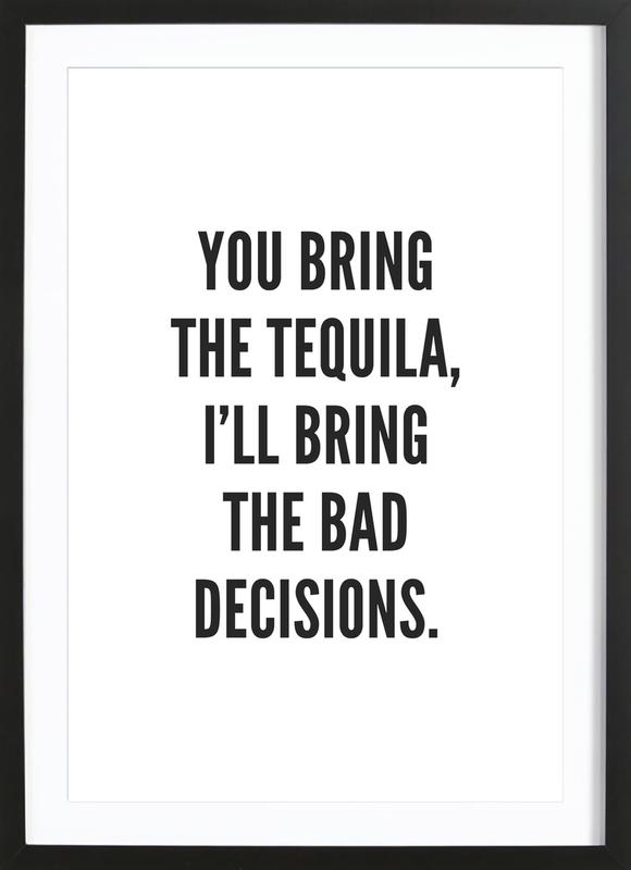 Tequila Framed Print