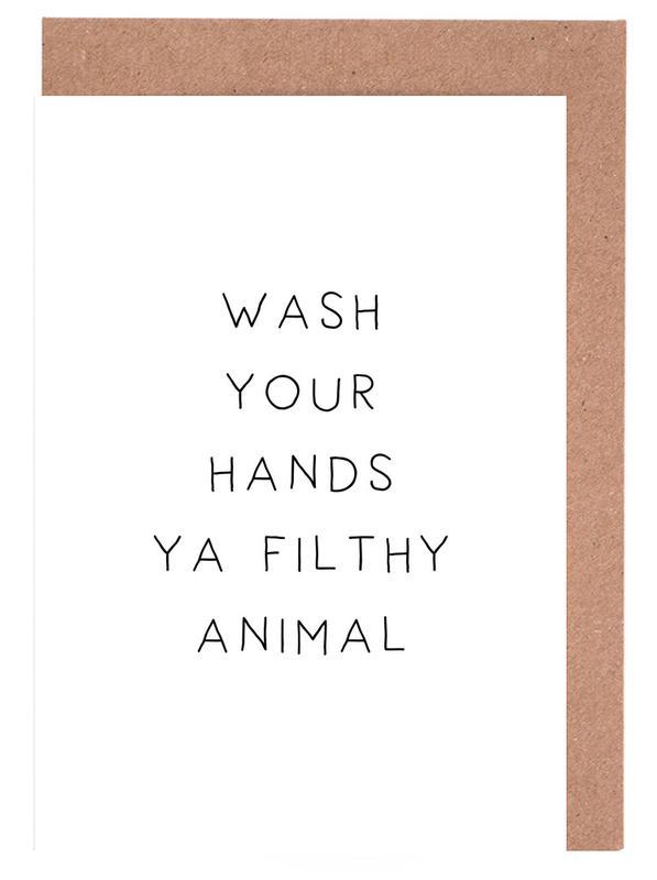 Filthy Greeting Card Set