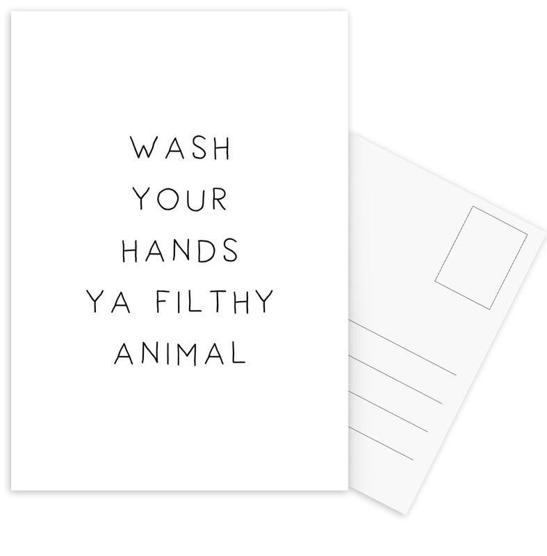 Filthy Postcard Set