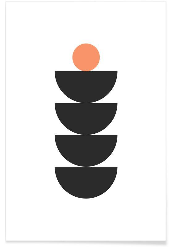 Semicircle Poster