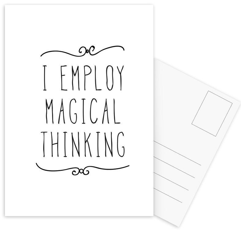 magical Postcard Set