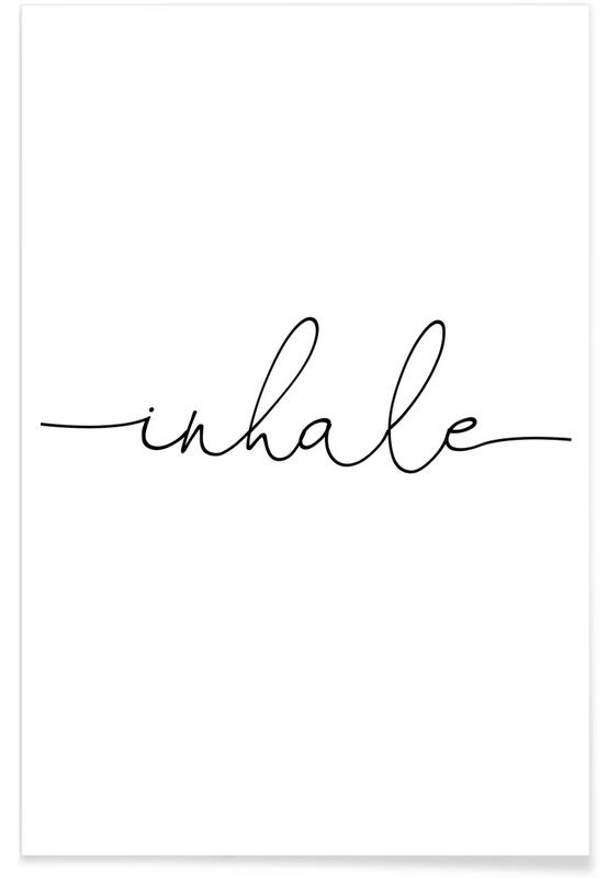 , Inhale Exhale-left -Poster