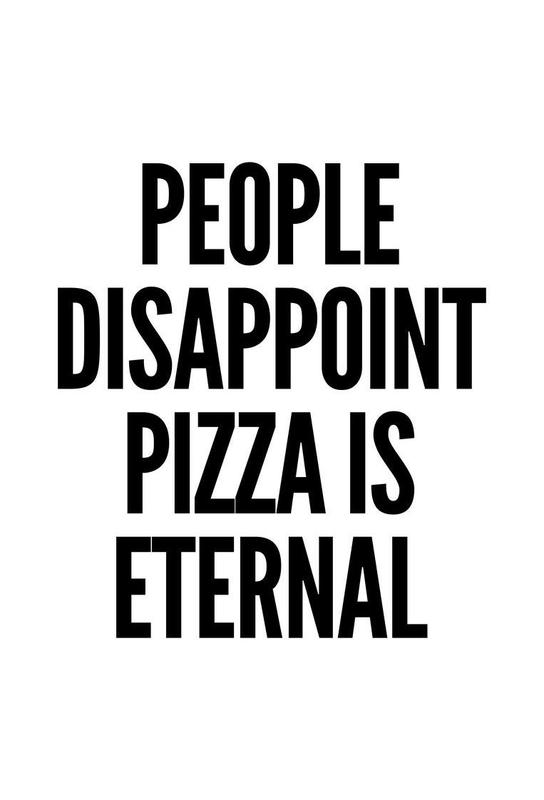 pizza Aluminium Print