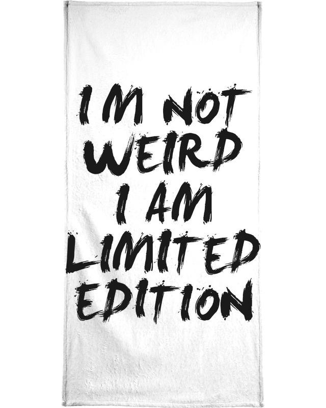 Black & White, Funny, Quotes & Slogans, weird Bath Towel