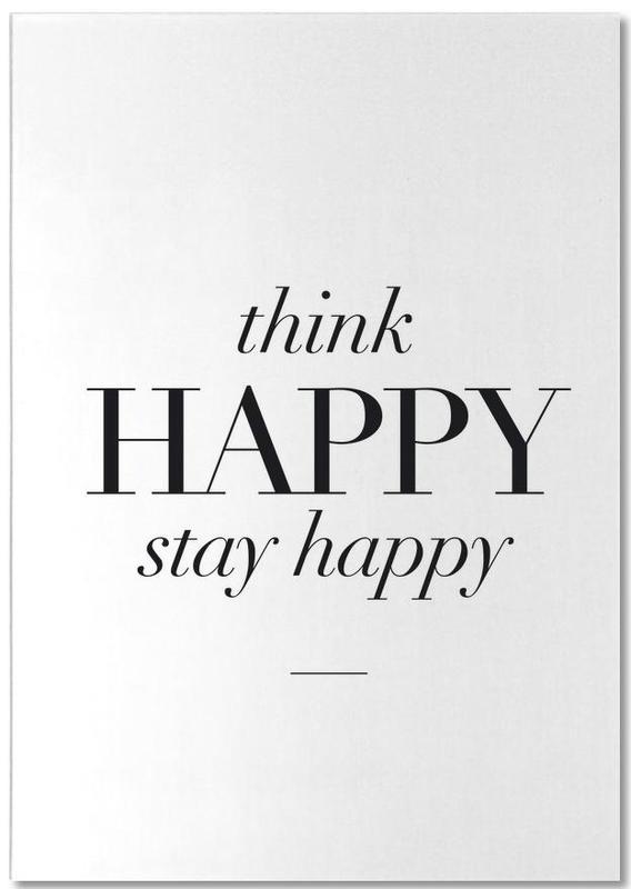 Think Happy Notepad