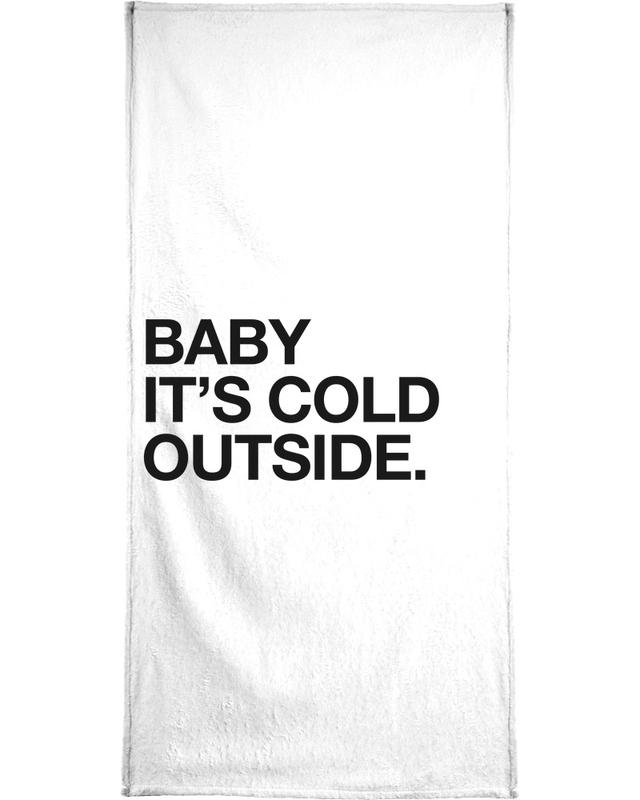 Black & White, Quotes & Slogans, Baby Bath Towel