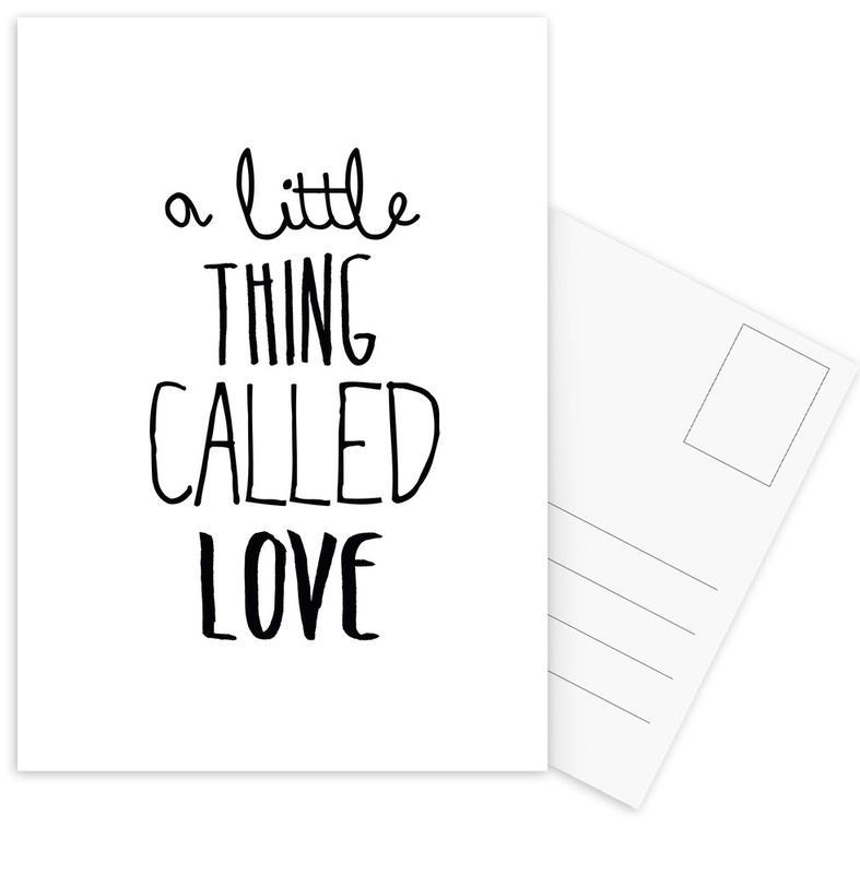 Black & White, Quotes & Slogans, Love Quotes, called Postcard Set