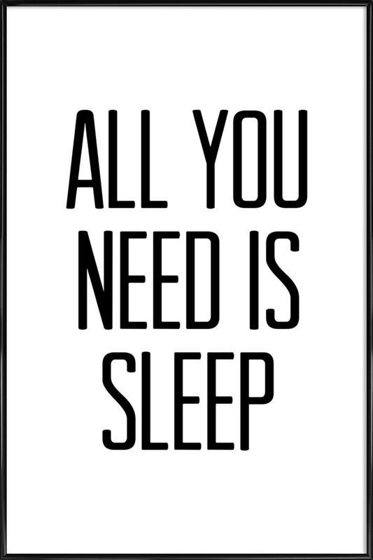 Sleep Framed Poster