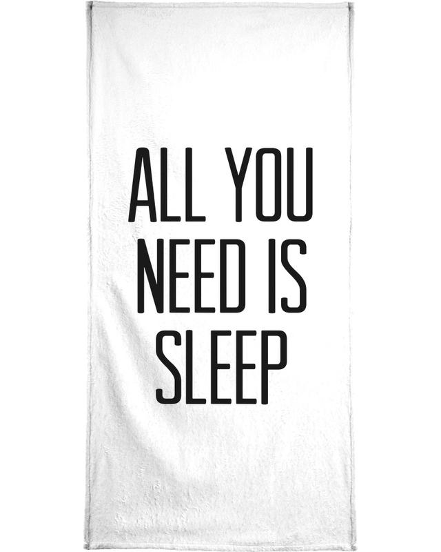 Sleep -Handtuch