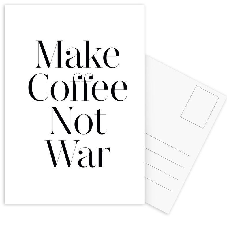 coffee Postcard Set