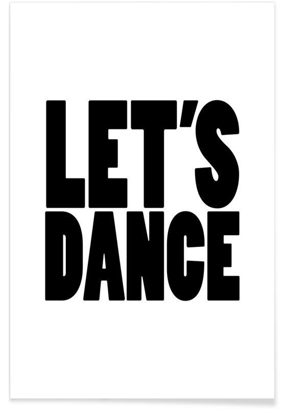 Lets Dance Poster Juniqe