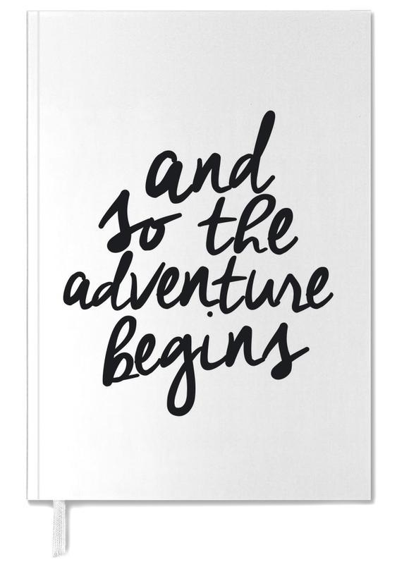 Adventure Begins Personal Planner