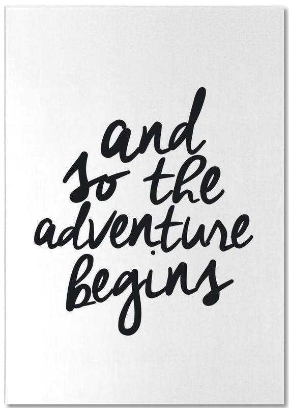 Adventure Begins Notepad