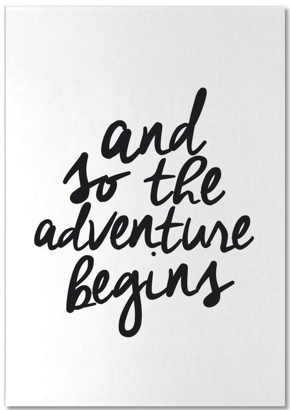 Adventure Begins -Notizblock