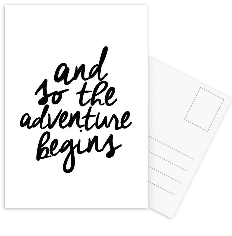 Adventure Begins Postcard Set