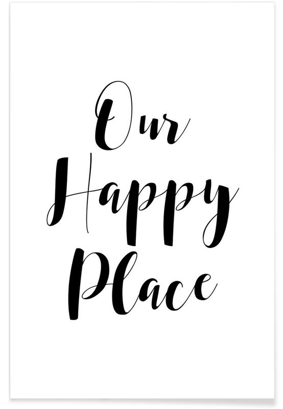 Our Happy Place Plakat