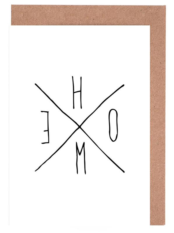 Citations et slogans, Crémaillères, Noir & blanc, Home cartes de vœux