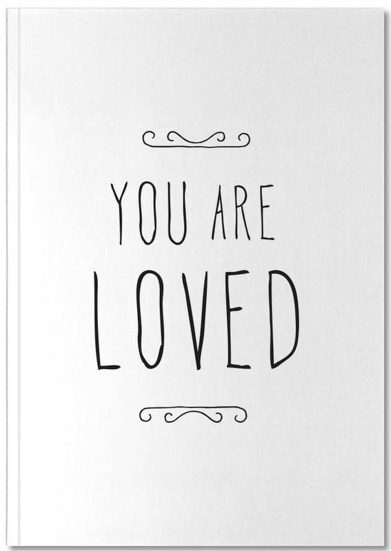 Citations et slogans, Fête des mères, Citations d'amour, Saint-Valentin, Anniversaires de mariage et amour, You Are Loved Notebook