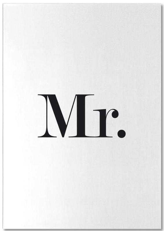 Mr. -Notizblock