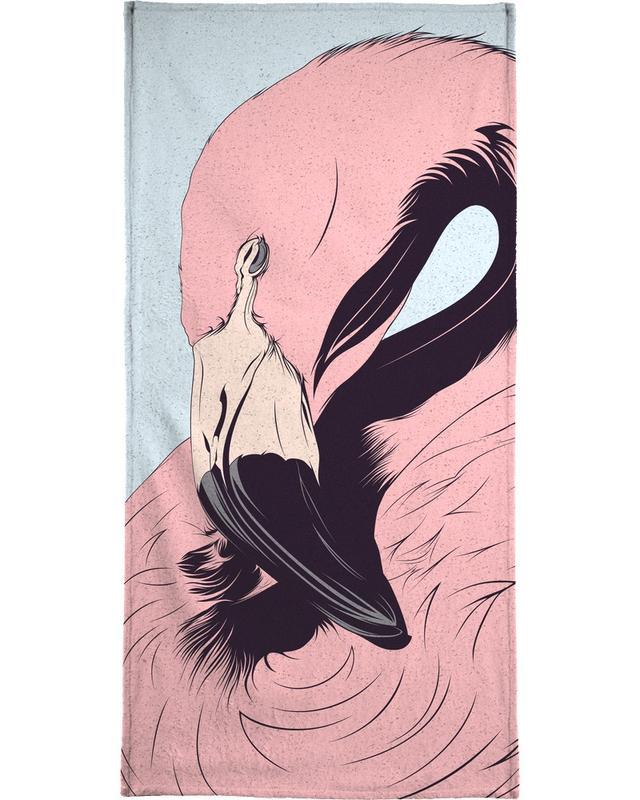 Flamingo -Strandtuch