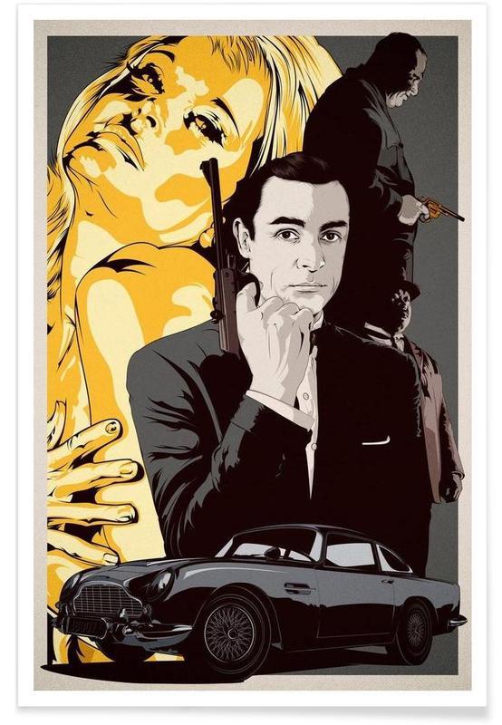 James Bond, Films, Goldfinger affiche