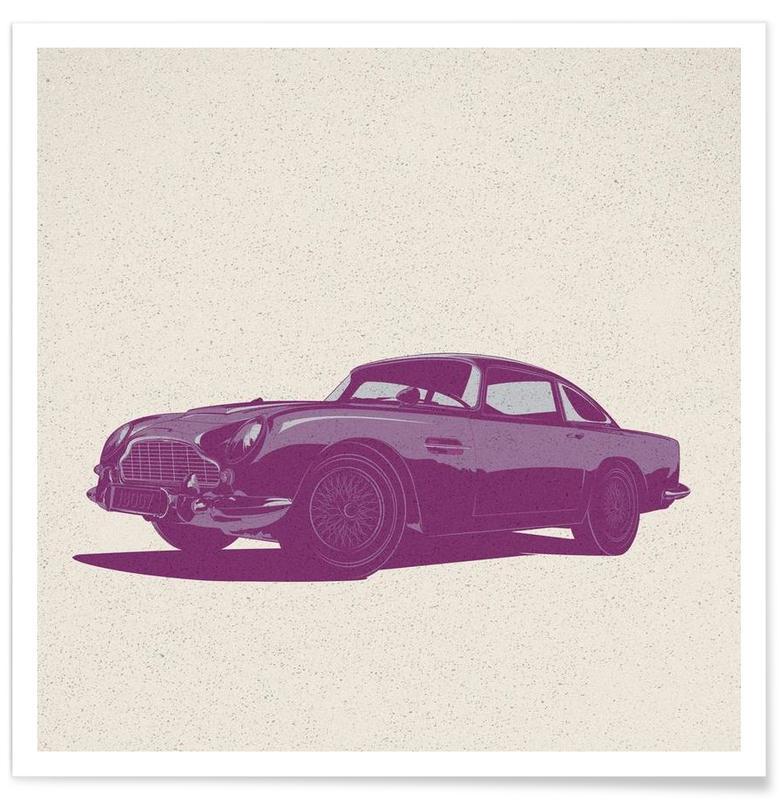 Cars, Aston Poster
