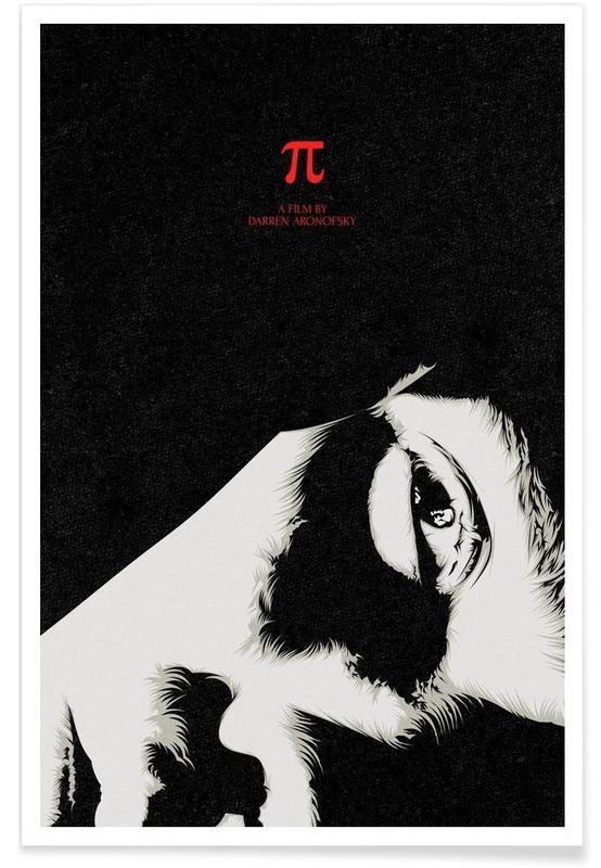 Noir & blanc, Films, Pi affiche