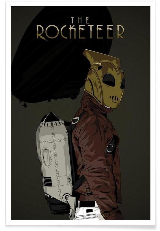 Rocketeer affiche