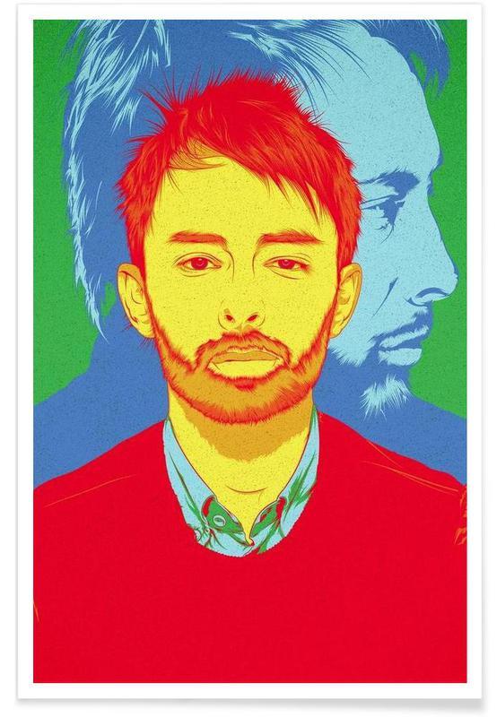 , Thom Yorke Rainbow affiche