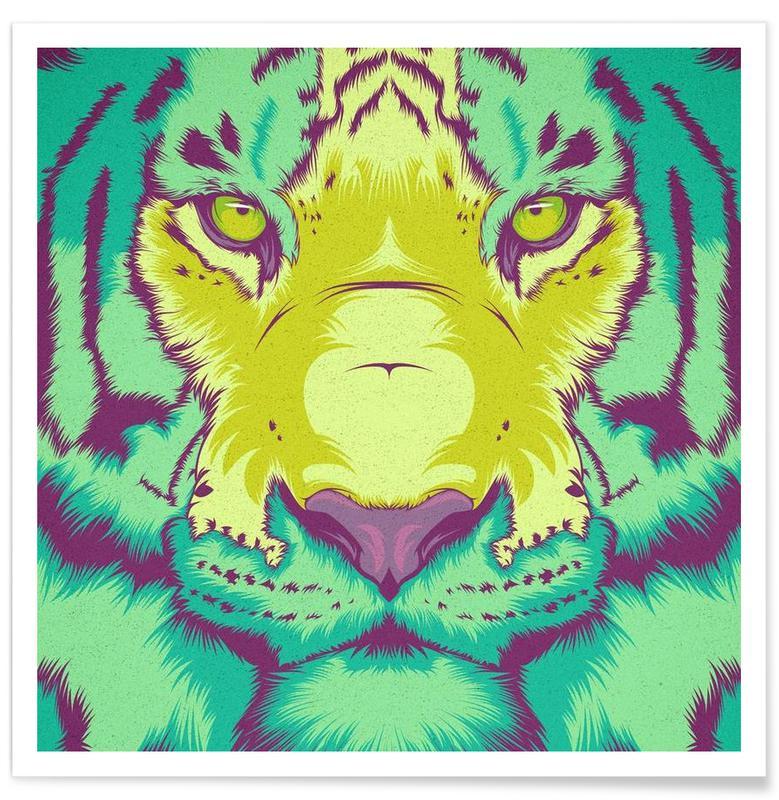 Tiger Alt Poster