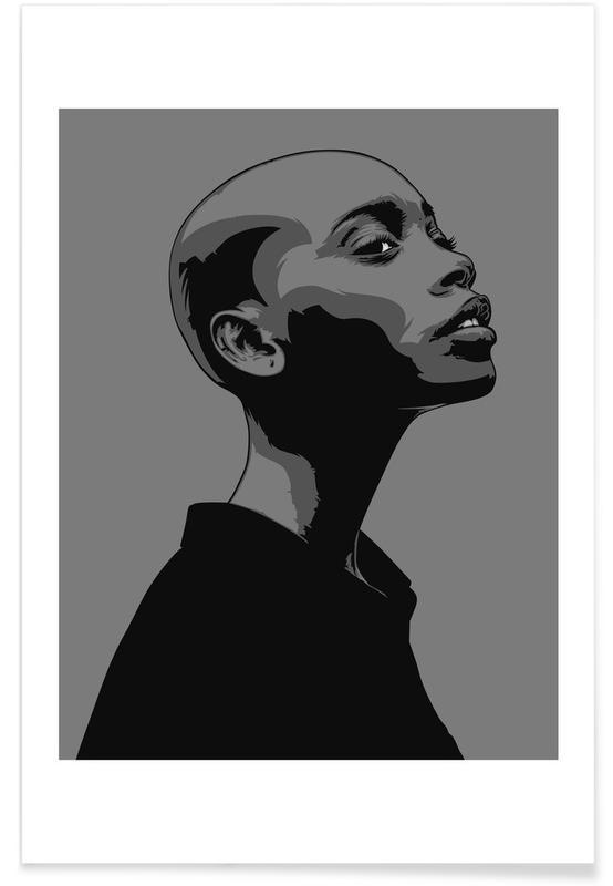 Black & White, CV 07 Poster