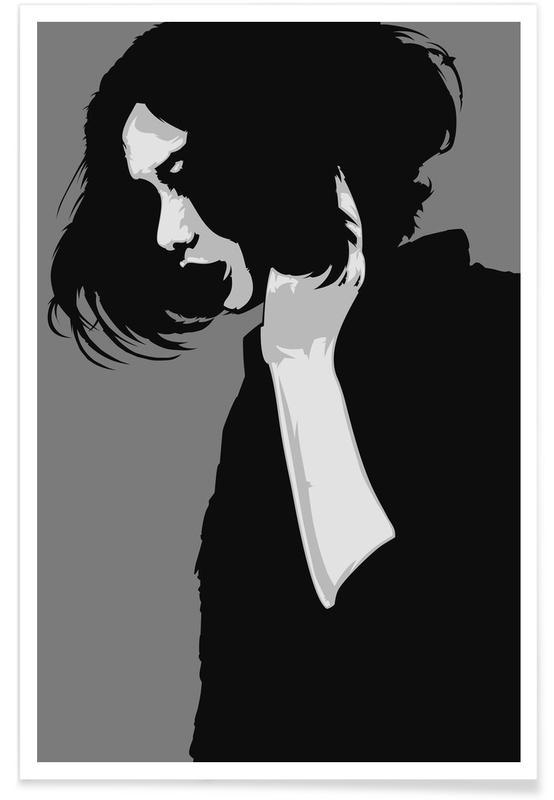 Schwarz & Weiß, CV 02 -Poster