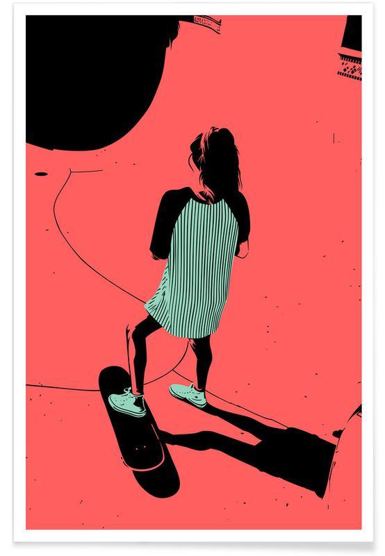 Skating, SKB 01 Poster
