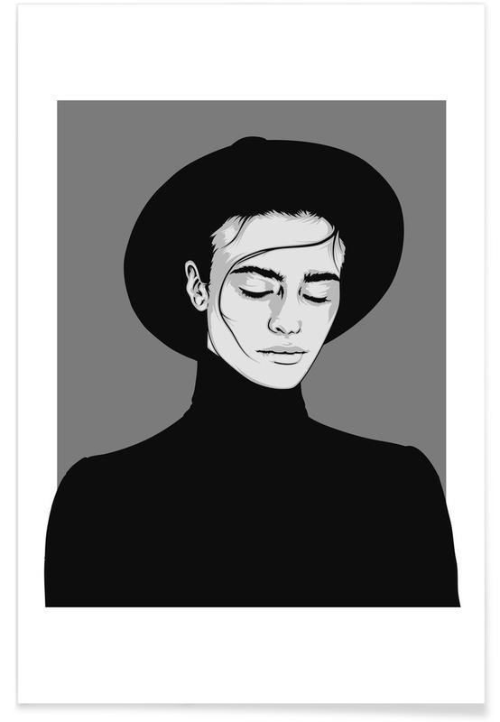 Noir & blanc, CV 06 affiche