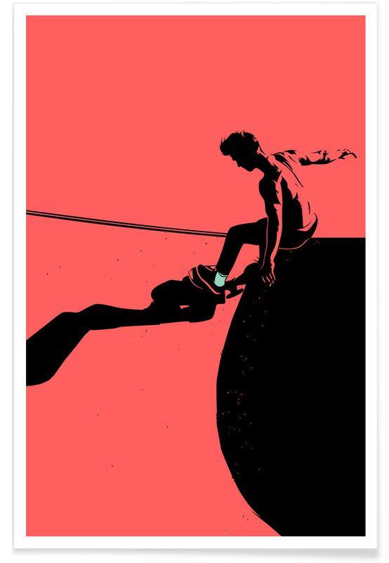 Skating, SKB 04 -Poster